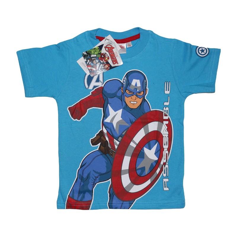 90f9312a58 Amerika kapitány gyerek póló Szín Kék Méret 98